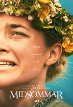 Plakat filmu Midsommar. W biały dzień