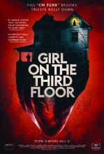 Movie poster Dziewczyna z trzeciego piętra