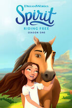 Plakat filmu Spirit Riding Free